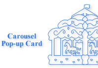 How to make a carousel pop-up card youtube.